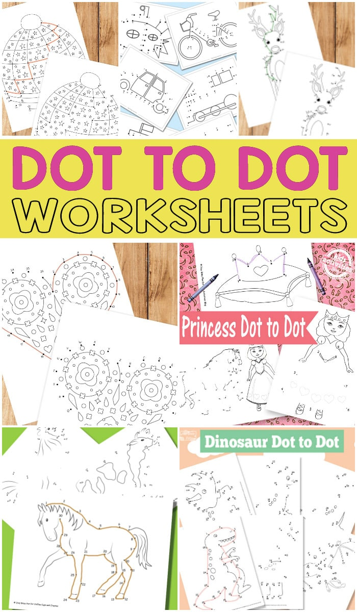 Lovely Dot to Dot Worksheets