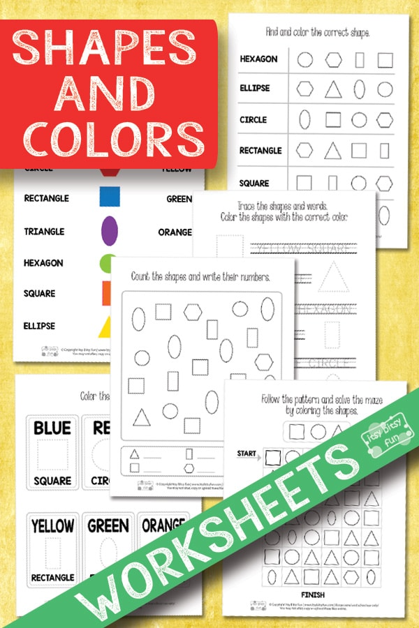 Preschool Color By Number Worksheets Itsy Bitsy Fun Preschool Best Free Printable Worksheets