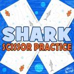 Shark Scissor Practice Material