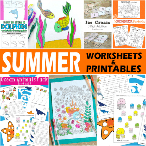 Summer Worksheets and Printables