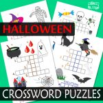 Halloween Crossword Puzzles for Kids