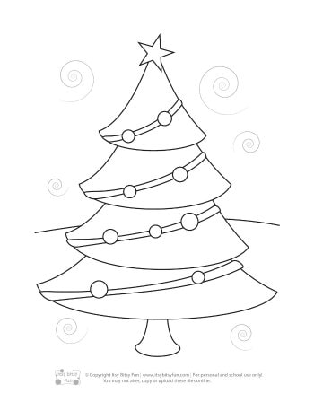 Christmas Coloring Pages for Kids - Itsy Bitsy Fun