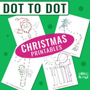 Christmas Dot-to-Dot Printables