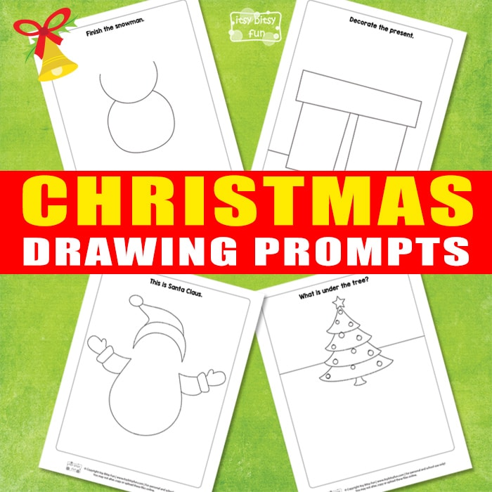 Christmas Drawing Prompts