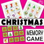 Christmas Memory Game for Kids
