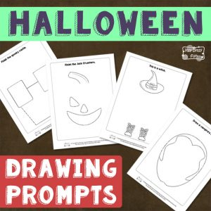 Drawing Prompts for Haloween