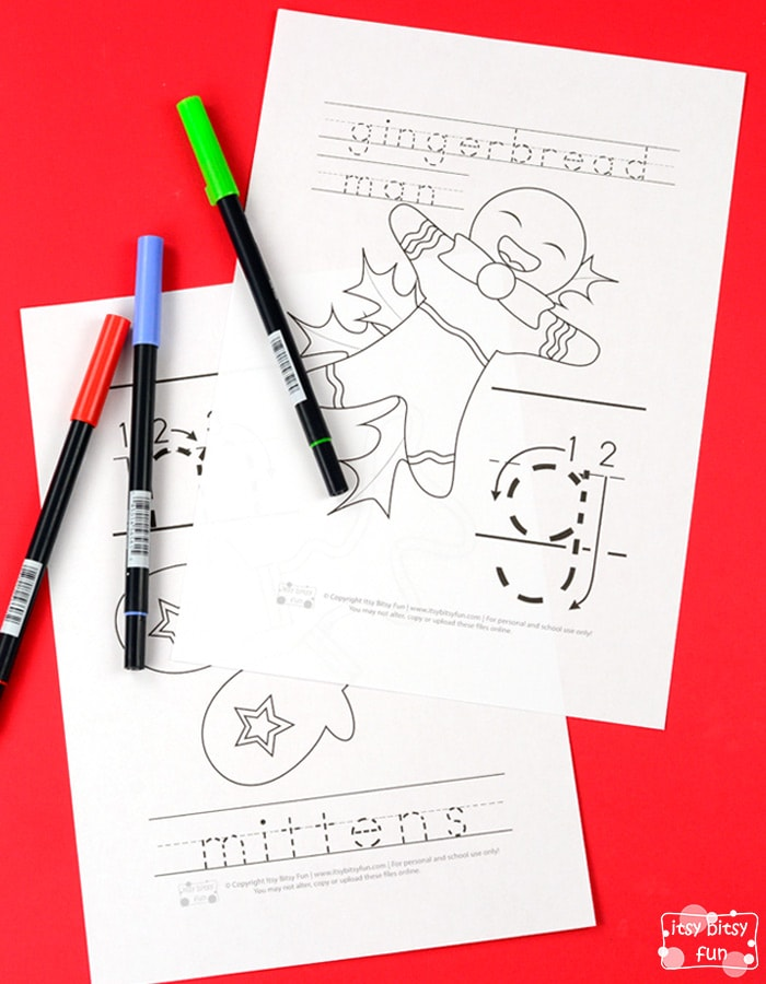 free printable christmas alphabet coloring pages for kids