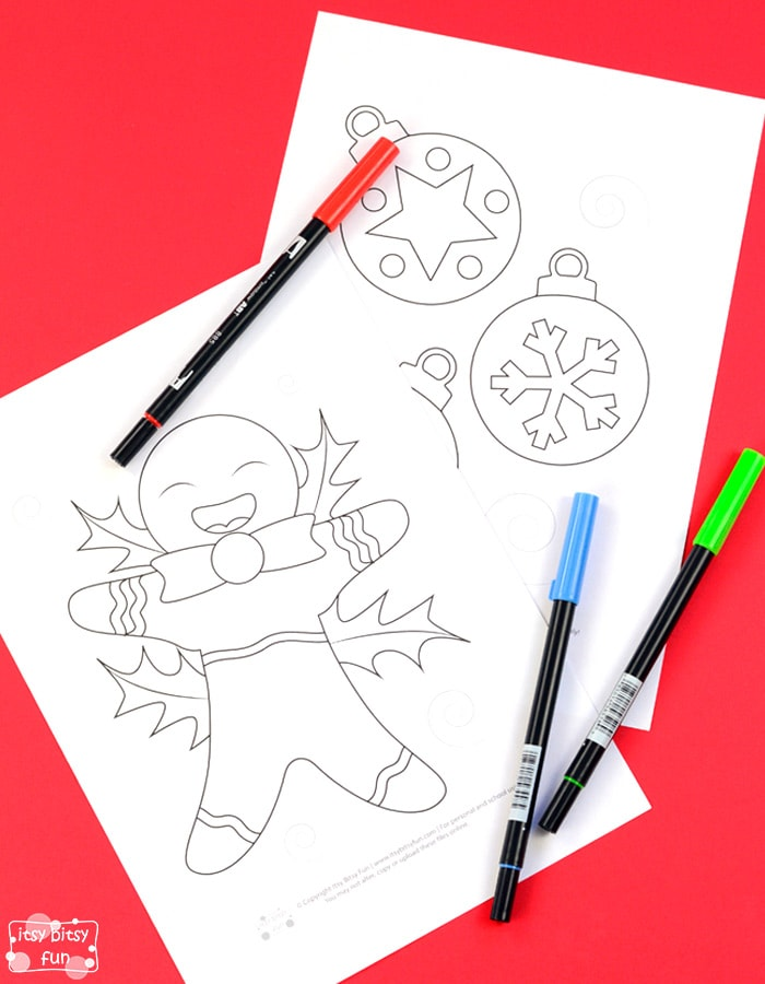 Fun Christmas Coloring Pages for Kids