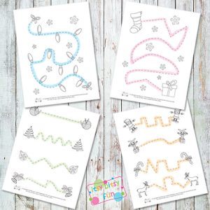 Christmas Tracing Exercises