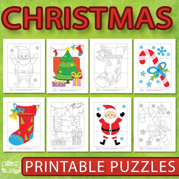 Printable Christmas Puzzles For Kids