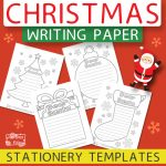 Printable Christmas Writing Stationery Papers