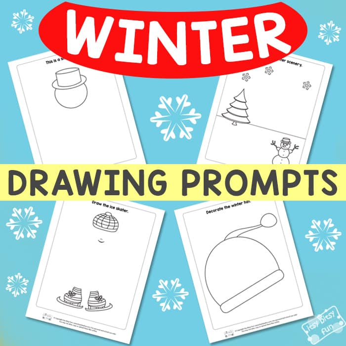 Winter Drawing Prompts