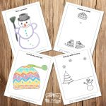 Winter Drawing Prompts for Kids