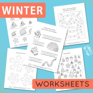 Winter Worksheets for Kids