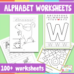 Alphabet Worksheets PDF