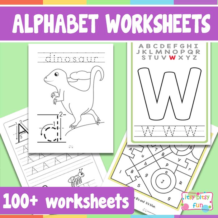Alphabet Worksheets PDF