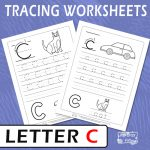 Letter C Tracing Worksheets