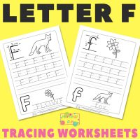 Letter F Tracing Worksheets