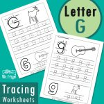 Letter G Tracing Worksheets