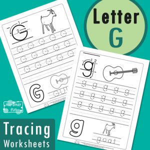 Letter G Tracing Wroksheets