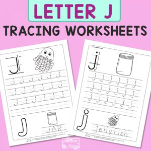 Letter J Tracing Worksheets