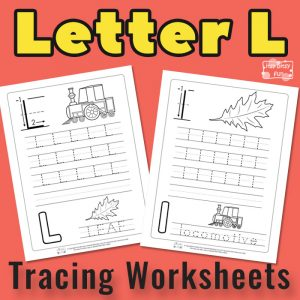 Letter L Tracing Worksheets