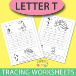 Letter T Tracing Worksheets
