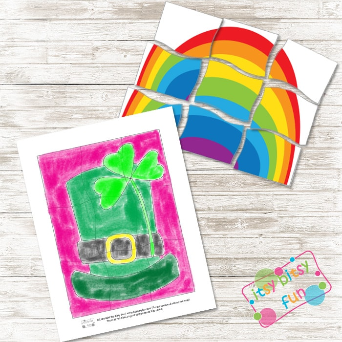 Printable Puzzles - Saint Patrick Day