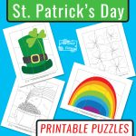 St. Patrick's Day Printable Puzzles for Kids