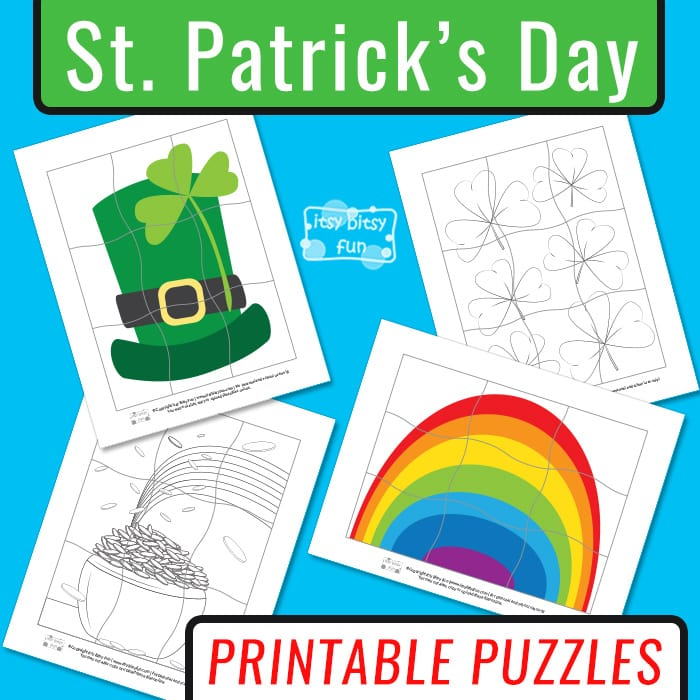 Saint Patricks Day Printable Puzzles