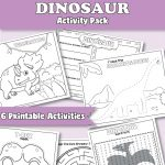 Printable Dinosaur Activities for Preschool
