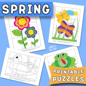 Spring Printable Puzzles
