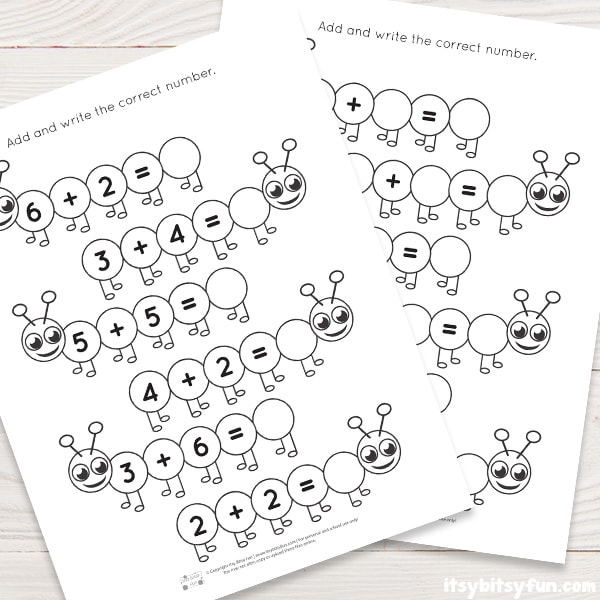 Addition Worksheets for Kids
