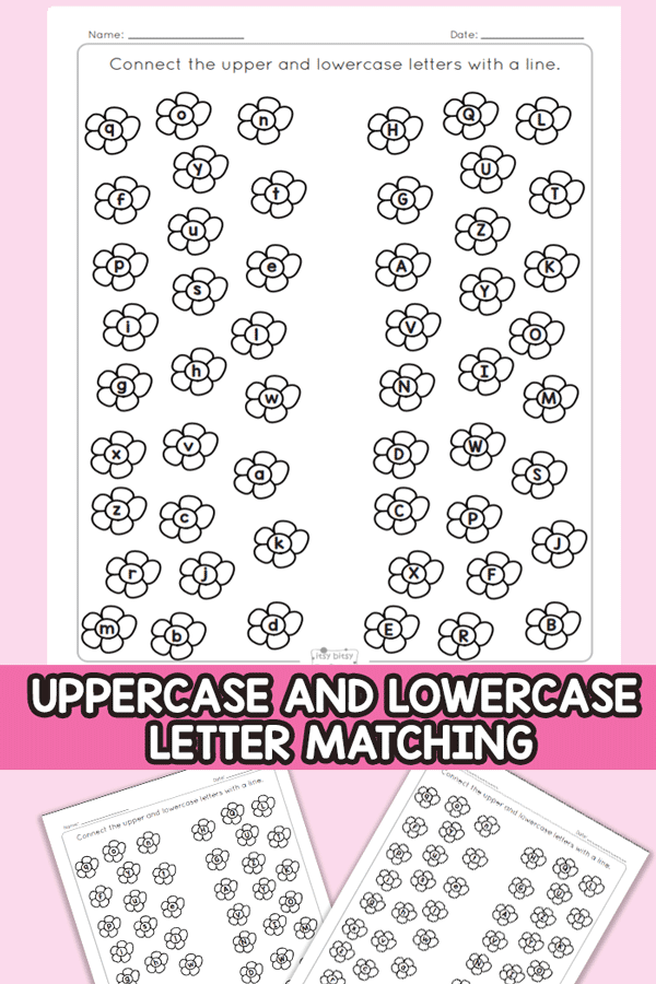 Matching Lowercase and Uppercase Letters