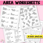 Free printable Area Worksheets