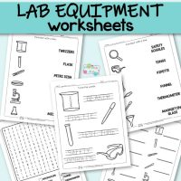 Lab Equipment Worksheets