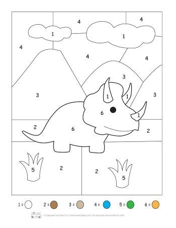 Dinosaur Printable Preschool and Kindergarten Pack ...