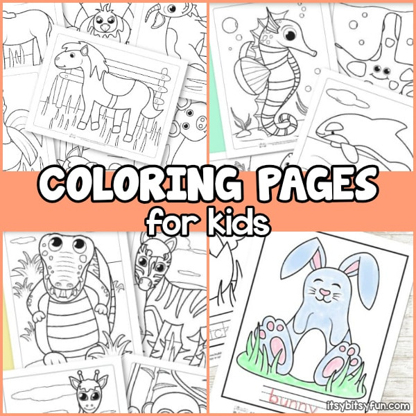 Coloring pages for kids.