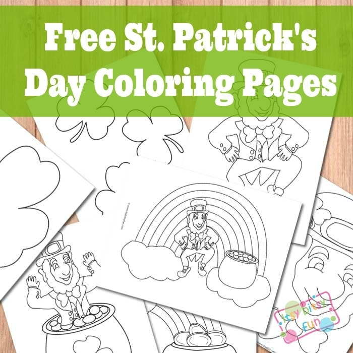 Get These St Patricks Day Coloring Pages For Kids Here