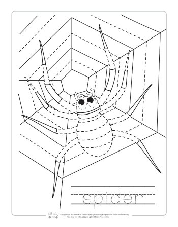 Halloween Pumpkin Coloring Pages For Kids Halloween Tracing Work...