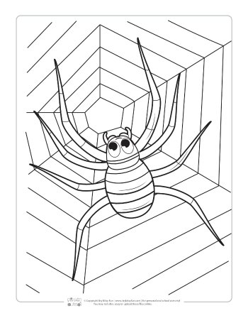 Halloween Coloring Pages For Kids Itsy Bitsy Fun
