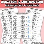 Pumpkin Addition and Subtraction Worksheets