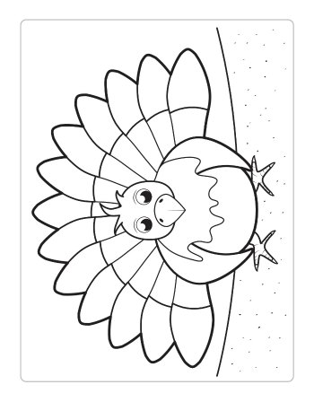 FREE Thanksgiving Coloring Pages for Adults & Kids - Happiness is ... | 448x350
