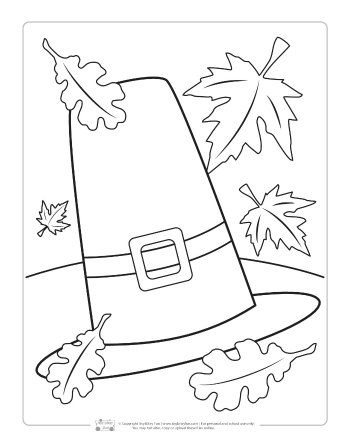 Free Thanksgiving Coloring Pages Printables For Kids - More Than A ... | 448x350