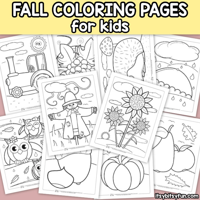Free Printable Coloring Pages For Kids - Itsybitsyfun.com