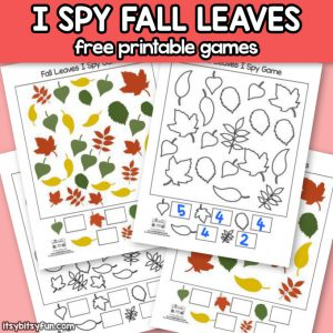 Free Printable Fall Leaves I Spy Games