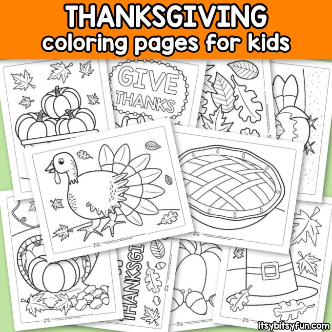 - Thanksgiving Coloring Pages - Itsybitsyfun.com