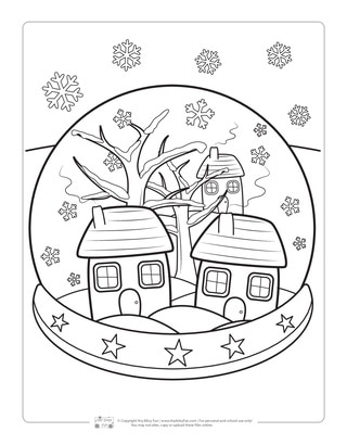 Free Printable Winter Coloring Pages Timeless Miracle Com ... | 410x320