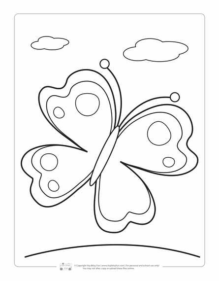 Spring Coloring Pages For Kids - Itsybitsyfun.com