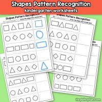 Shapes Pattern Recognition for Kindergarten